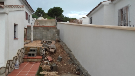 2015 Construction - Washing-line Terrace